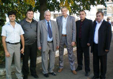 Рабочая встреча Совета Комитета общественной безопасности с генералом Л.Г.Ивашовым